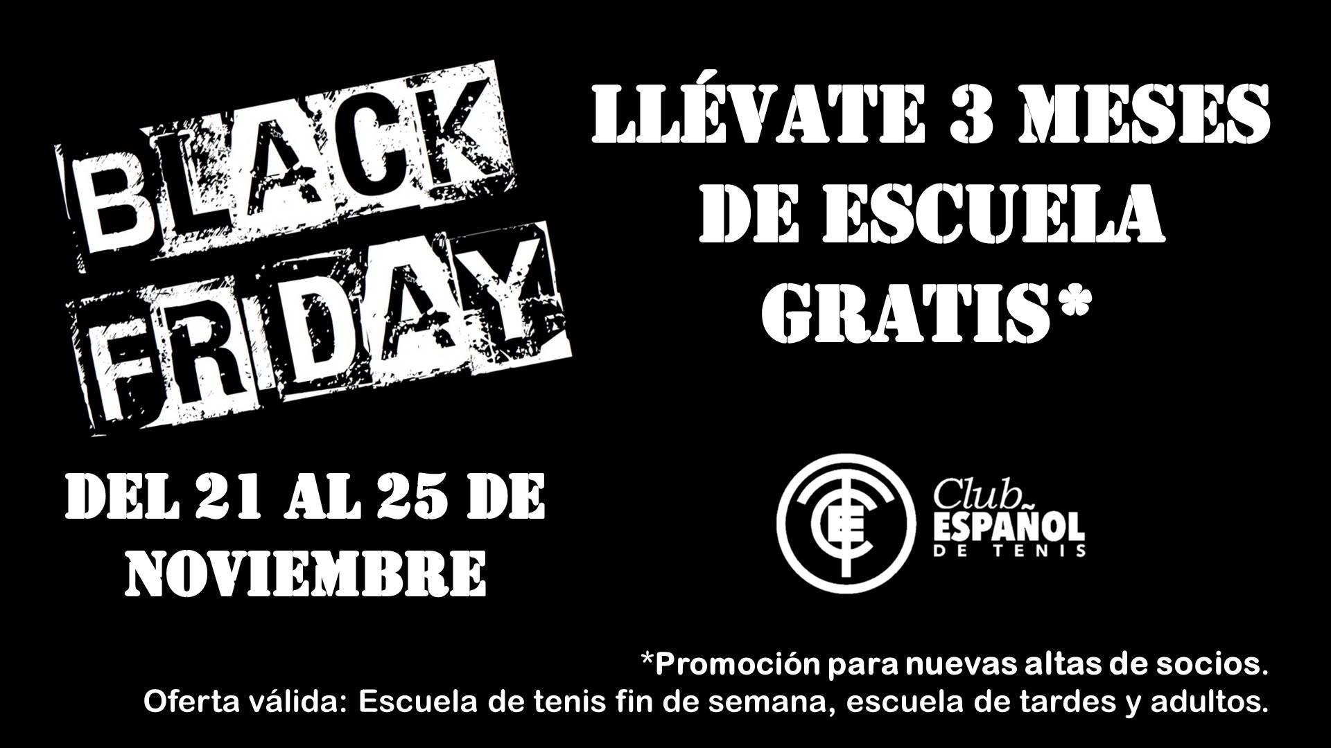 adede6bf5e Black Friday del 21 al 25 de noviembre